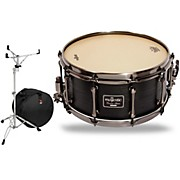 Mapex Concert Black Maple Snare Drum with Stand and Free Bag
