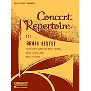 Rubank Publications Concert Repertoire for Brass Sextet (3rd and 4th F Horns (opt.)) Ensemble Collection Series