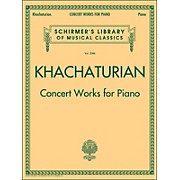 G. Schirmer Concert Works for Piano - Schirmer Library By Khachaturian
