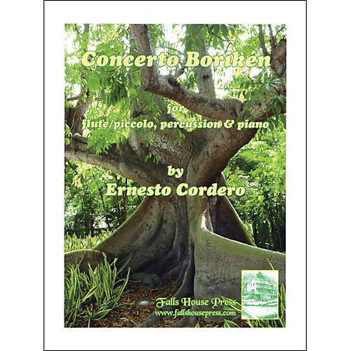 Carl Fischer Concerto Boriken Book-thumbnail