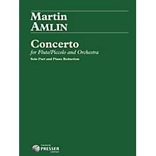 Theodore Presser Concerto For Flute/Piccolo And Orchestra (Book + Sheet Music)