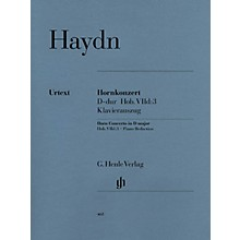 G. Henle Verlag Concerto for Horn and Orchestra D Major Hob.VIId:3 Henle Music Folios Series Softcover
