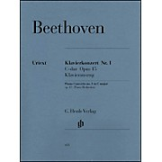 G. Henle Verlag Concerto for Piano and Orchestra C Major Op. 15, No. 1 By Beethoven