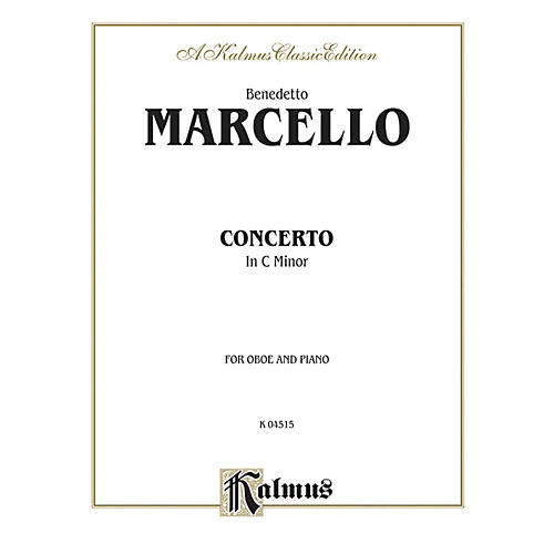 Alfred Concerto in C Minor for Oboe By Benedetto Marcello Book-thumbnail