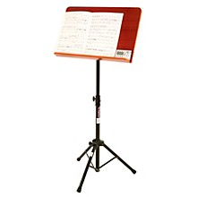 On-Stage Stands Conductor Stand with Wide Wooden Bookplate