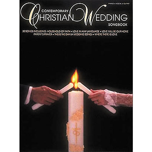 Hal Leonard Contemporary Christian Wedding Songbook Piano/Vocal/Guitar Songbook-thumbnail