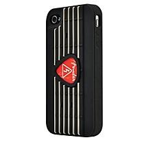 Hal Leonard Contour Design Fender iPhone 4/4S Red Pick Silicone Protective Case