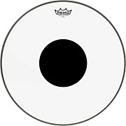 Remo Controlled Sound Clear with Black Dot Bass Drum