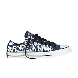 Converse All Star Oxford Low-Top Poseidon/White Vintage Print (139751F-9)