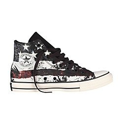 Converse Chuck Taylor All Star High-Top White/Chili Pepper/Vintage Indigo Flag (139768F-8)