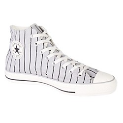 Converse Chuck Taylor All Star Stripe Hi-Top Sneakers (Grey/White) (109847F-11)