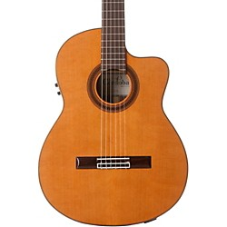 Cordoba C7-CE CD/IN Acoustic-Electric Nylon String Classical Guitar (GUCLCOR-04680)