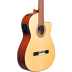 Cordoba Fusion 12 Natural Spruce Classical Electric Guitar (5653)