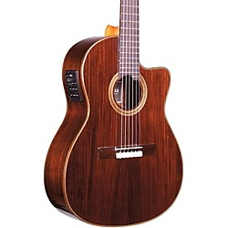 Cordoba Fusion 12 Rose Acoustic-Electric Nylon String Classical Guitar (GUHYCOR-05624)
