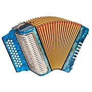 "Hohner Corona II Classic, Key of ""ADG"" Diatonic ACC Accordion"