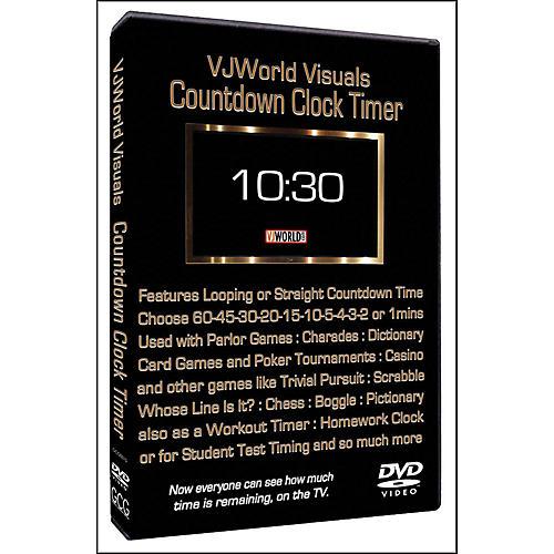 Hal Leonard Countdown Clock Timer VJ World Visuals-thumbnail