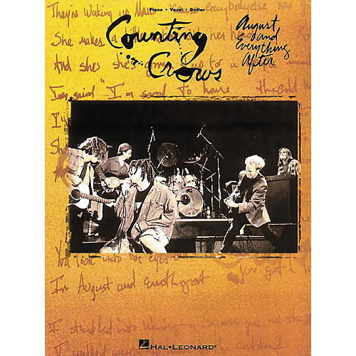 Hal Leonard Counting Crows - August & Everything After Piano, Vocal, Guitar Songbook-thumbnail