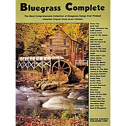 Creative Concepts Bluegrass Complete Songbook (315028)