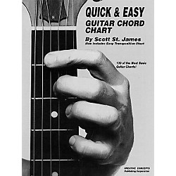 Creative Concepts Quick and Easy Guitar Chord Chart Book (315149)