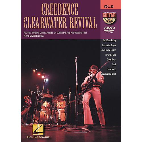 Hal Leonard Creedence Clearwater Revival - Guitar Play-Along DVD, Volume 20
