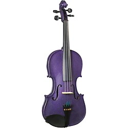 Cremona SV-130PP Series Sparkling Purple Violin Outfit (SV-130PP)