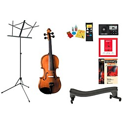 Cremona SV-175 Beginner Student 1/2 Violin Bundle (SV175VN12-123 Kit)