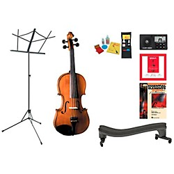 Cremona SV-175 Beginner Student 1/4 Violin Bundle (SV175VN14-123 Kit)