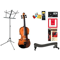 Cremona SV-175 Beginner Student 3/4 Violin Bundle (SV175VN34-123 Kit)
