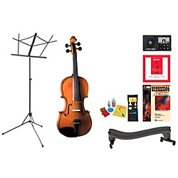 Cremona SV-175 Beginner Student Violin Bundle (SV175VN44-123 Kit)