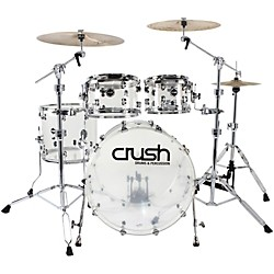 Crush Drums & Percussion Acrylic 4-Piece Shell Pack (A2C428-C)