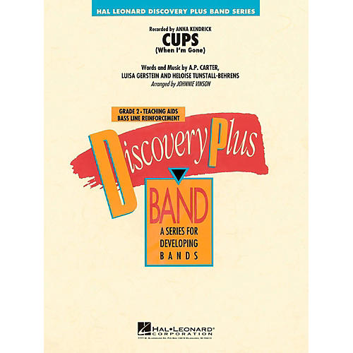 Hal Leonard Cups (When I'm Gone)  - Discovery Plus Concert Band Level 2-thumbnail