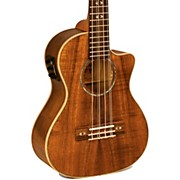 Lanikai Curly Koa Series CK-6EK 6-String Tenor Ukulele with Fishman Kula Electronics