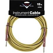 Fender Custom Shop Tweed Cable (Straight-Straight Angle)