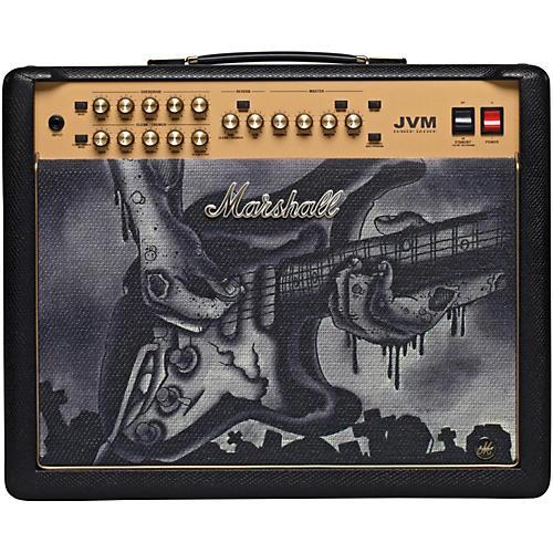 Marshall Custom Tattoo JVM215C 50W Tube Guitar Combo-thumbnail