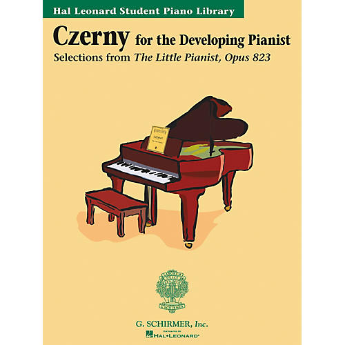 G. Schirmer Czerny Book Only Selections From The Little Pianist Opus 823 Hal Leonard Student Piano Library-thumbnail