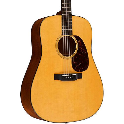Martin D-18E Retro Series Dreadnought Acoustic-Electric Guitar Natural