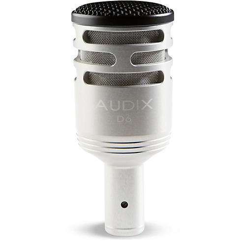 Audix D-6 Sub Impulse Kick Microphone - Brushed Aluminum Special Edition