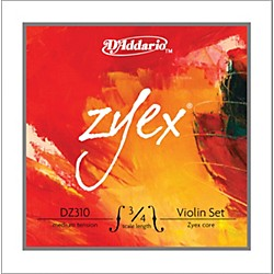 D'Addario DZ310 Zyex Violin Strings 3/4 Scale (DZ310 3/4M)