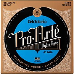 D'Addario EJ46 Pro-Arte Hard Tension Classical Guitar Strings (EJ46)