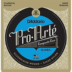 D'Addario EJ46C Pro-Arte Composites Hard Tension Classical Guitar Strings (EJ46C)