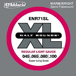 D'Addario ENR71SL Half Rounds Light Bass Strings (ENR71SL)