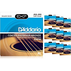 D'Addario EXP16 Acoustic Strings 10-Pack (KIT879028)