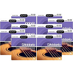 D'Addario EXP26 Acoustic Strings 10 Pack (KIT879030)