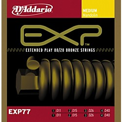 D'Addario EXP77 Coated Mandolin Strings Medium (EXP77)