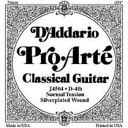 D'Addario J45 D-4 Pro-Arte Composites Normal Single Classical Guitar String (J4504)