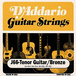 D'Addario J66 80/20 Tenor Guitar Strings (J66)