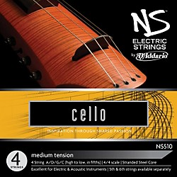 D'Addario NS510 NS Electric Cello Strings (NS510)