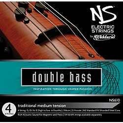D'Addario NS610 NS Electric Traditional Bass Strings (NS610)