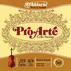 D'Addario Pro-Arte 4/4 Size Cello String Set (J59 4/4M)