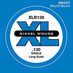 D'Addario XLB130 Nickel Wound Electric Bass Single String (XLB130)